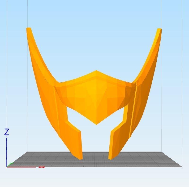 Capt6325ure.JPG Download STL file helmet of the golden knight of Aquarius • Object to 3D print, darkangel