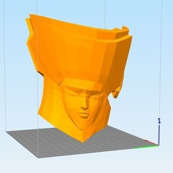 Captu1111re.JPG Download STL file saint seiya helmet gemeau • 3D print design, darkangel