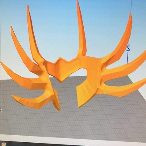 Modelos 3D casco santo seiya cáncer, darkangel