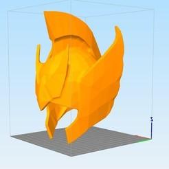 3D printer files saint seiya helmet belier, darkangel