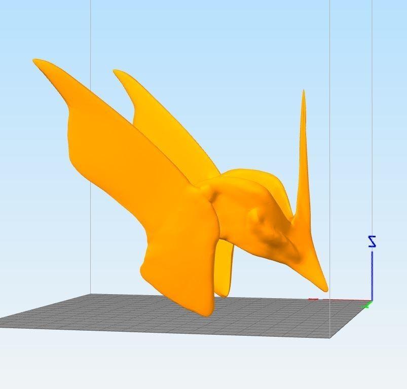 Cap365ture.JPG Download STL file saint seiya hagen de merak • Template to 3D print, darkangel