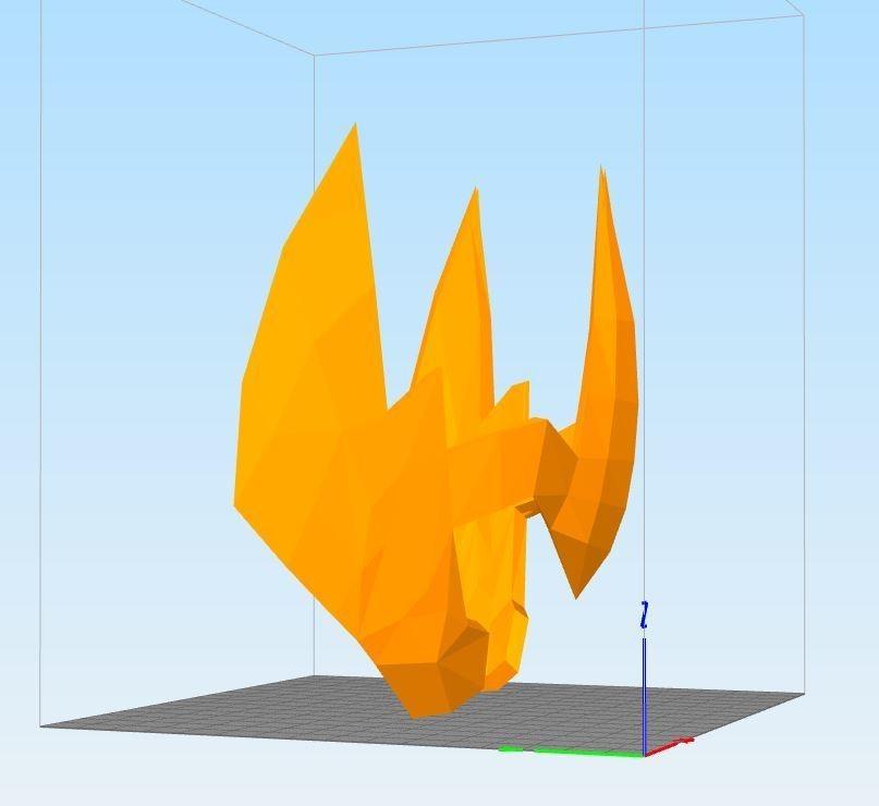 C369apture.JPG Download STL file helmet of the golden knight of the sagittarius • Design to 3D print, darkangel