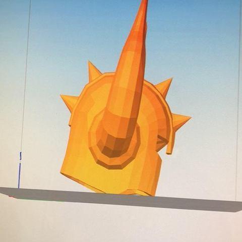 Impresiones 3D casco santo seiya toro, darkangel