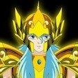 Download STL files saint seiya helmet fish, darkangel