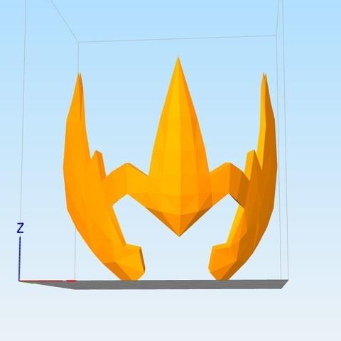 Captu745re.JPG Download STL file helmet of the golden knight of the sagittarius • Design to 3D print, darkangel