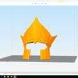 Descargar archivo 3D casco del emperador santa seiya Poseidón, darkangel