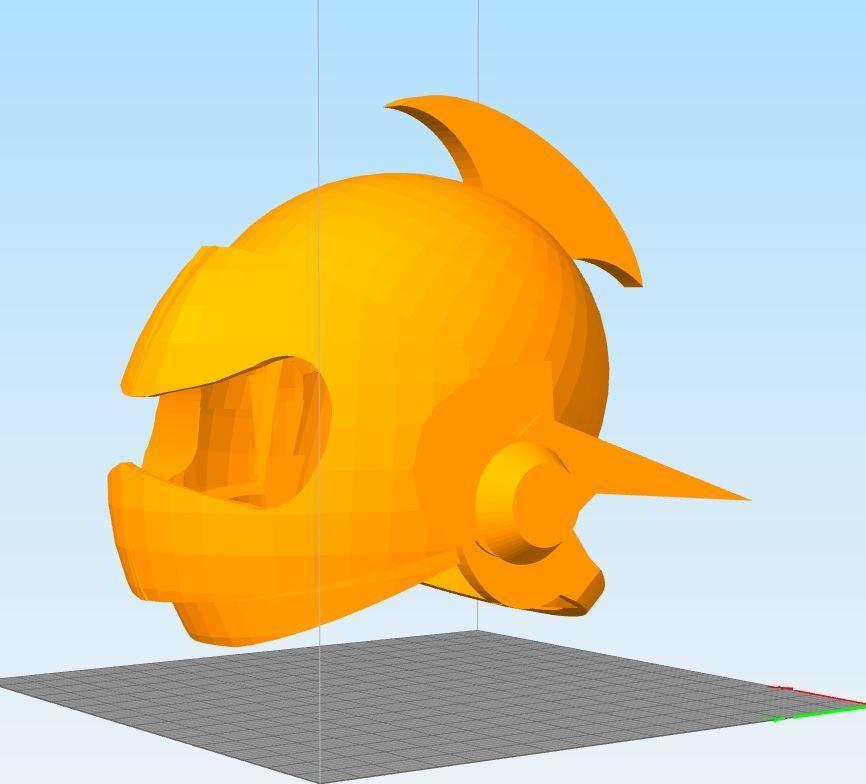 Cap6314ture.JPG Download STL file actarus 3d goldorak helmet • 3D printing template, darkangel