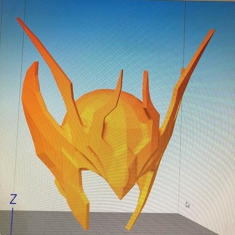 40618470_2200635303551108_4357539218541510656_n.jpg Download STL file saint seiya helmet virgin • 3D printing template, darkangel