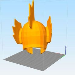 3D printing model saint seiya helmet fish, darkangel
