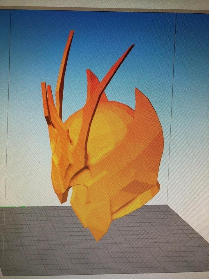 40584398_248032999385455_8689118301831299072_n.jpg Download STL file saint seiya helmet virgin • 3D printing template, darkangel