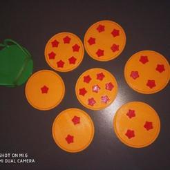 3D file Dragon Ball - Coasters, zipp0