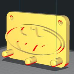 Télécharger fichier 3D gratuit Porte clefs Batman , Pabl0
