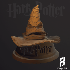 Download STL file Holder_Hat_Harry_Potter • 3D printing template, diegopolo05