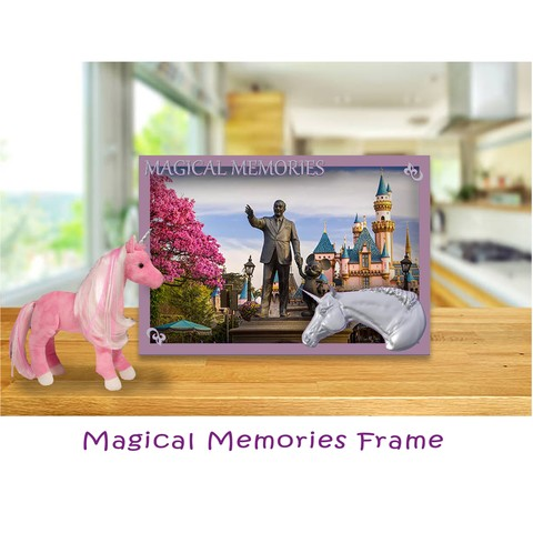 Free 3d printer model Magical Memories Unicorn Photo Frame, BreRose