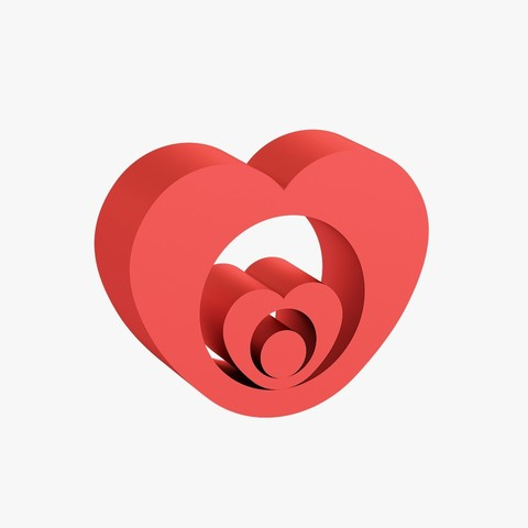 Download 3D print files Heart shaped figurine, VALIKSTUDIO