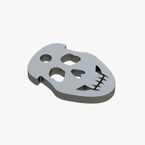 Download 3D printing templates Strange face trinket, VALIKSTUDIO