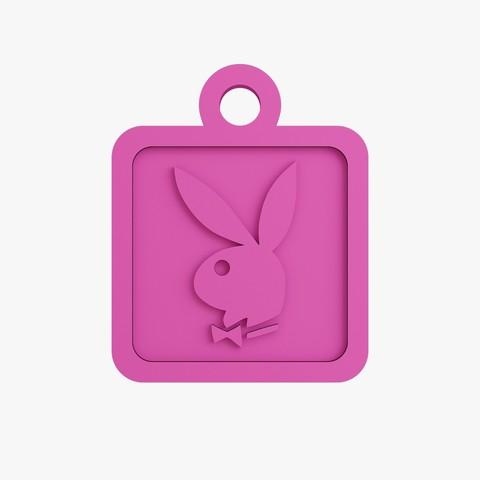 Télécharger objet 3D Porte-clés Playboy, VALIKSTUDIO