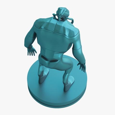 Mutant_jpg_05.jpg Download STL file Mutant miniature • Object to 3D print, VALIKSTUDIO