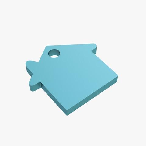 Download 3D print files House keychain, VALIKSTUDIO