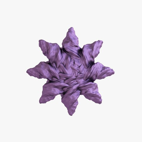 Descargar archivos 3D Estrella octogonal orgánica, VALIKSTUDIO