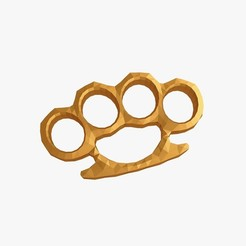 3D printing model Brass knuckles, VALIKSTUDIO