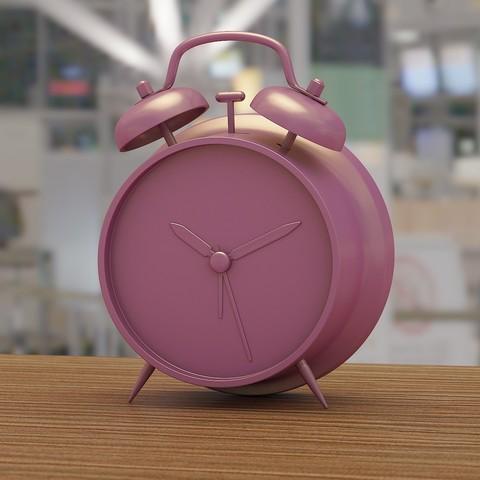 Diseños 3D Reloj despertador, VALIKSTUDIO