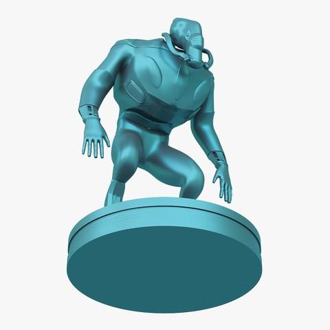 Mutant_jpg_04.jpg Download STL file Mutant miniature • Object to 3D print, VALIKSTUDIO