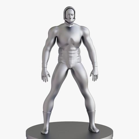 Impresiones 3D Hombre ciborg, VALIKSTUDIO