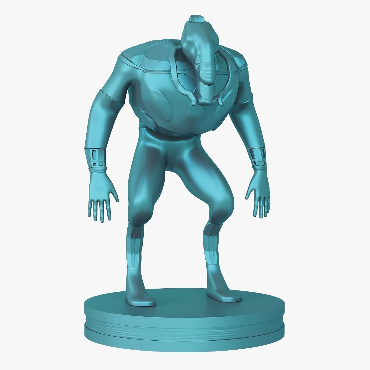 Mutant_jpg_01.jpg Download STL file Mutant miniature • Object to 3D print, VALIKSTUDIO