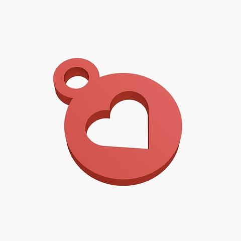 STL files Heart keychain, VALIKSTUDIO