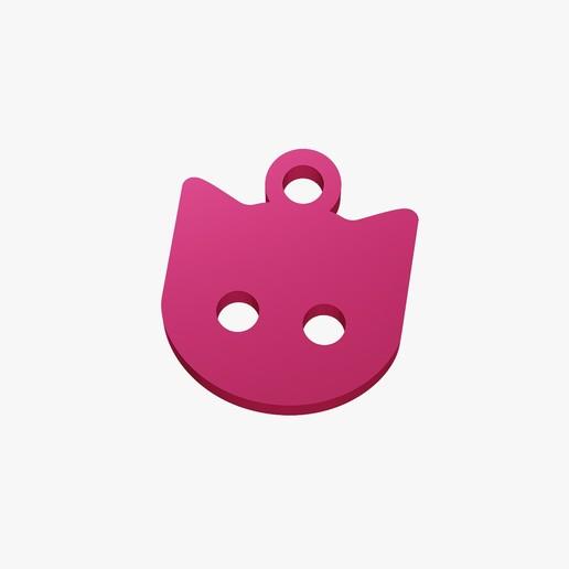 Descargar diseños 3D Baratija con cara de gato, VALIKSTUDIO