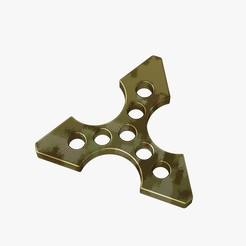 Brass_knuckles_ninja_star_jpg1.jpg Download OBJ file Brass knuckles ninja star • 3D printing object, VALIKSTUDIO