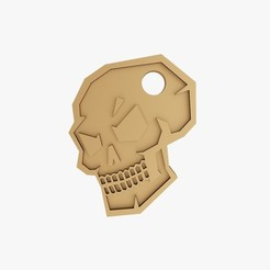 3D printer files Skull trinket, VALIKSTUDIO