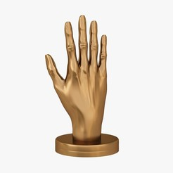 Download 3D printer model Hand shape, VALIKSTUDIO