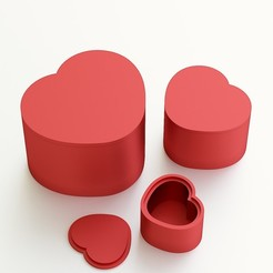 3D print files Heart box for gift, VALIKSTUDIO