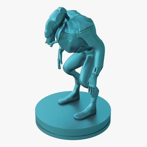 Mutant_jpg_03.jpg Download STL file Mutant miniature • Object to 3D print, VALIKSTUDIO