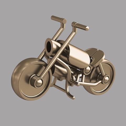 Download 3D printer files Toy motorbike, VALIKSTUDIO