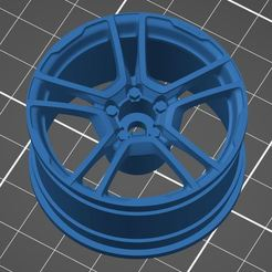 A110.JPG Download STL file RC 1/10 rims Alpine A110 1st edition • 3D printing object, original78