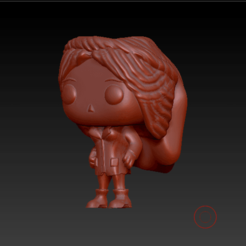 080 2.png Download OBJ file FUNKO POP RESEARCHER GIRLFRIEND • Model to 3D print, funkopersonalizados