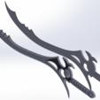 Objet 3D Power Rangers Épée des Ténèbres, JahRay