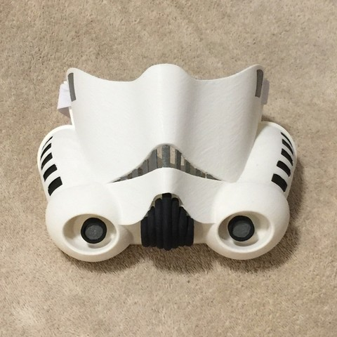 stl files Stormtrooper Face Mask, JahRay