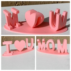 Descargar archivo 3D gratis Regalo del Día de la Madre, JahRay