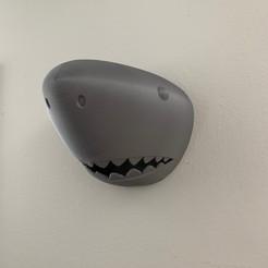 Download free 3D printing files Shark Head Wall Mount, JahRay