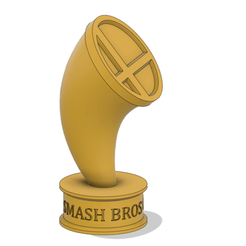 smash brosbase.png Download free STL file Super Smash Bros Trophy • 3D printable model, Thatsick