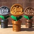 Imprimir en 3D Trofeo Super Smash Bros Piranha Plant, JahRay