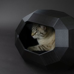 Objet 3D Cat house MiniTao, Catalpine