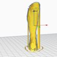 Télécharger fichier imprimante 3D OFFRE ! HOKUTO NO KEN-KENSHIRO-KEN IL GUERRIERO STL NOUVEAU DESSIN ANIMÉ, 3dartist