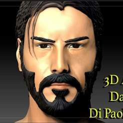 FB_IMG_1591340442868.jpg Télécharger fichier STL John Wick 3d model stl file Keanu Reeves with gun new offer sales • Modèle pour impression 3D, 3dartist