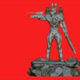 STL CYBORG M1-FILE 3D STL FOR PRINTERS CREATED BY DI PAOLANTONIO 3D print model, 3dartist