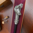 Lucius3.png Download 3MF file Lucius Malfoy Sale Wand • Model to 3D print, santuli700